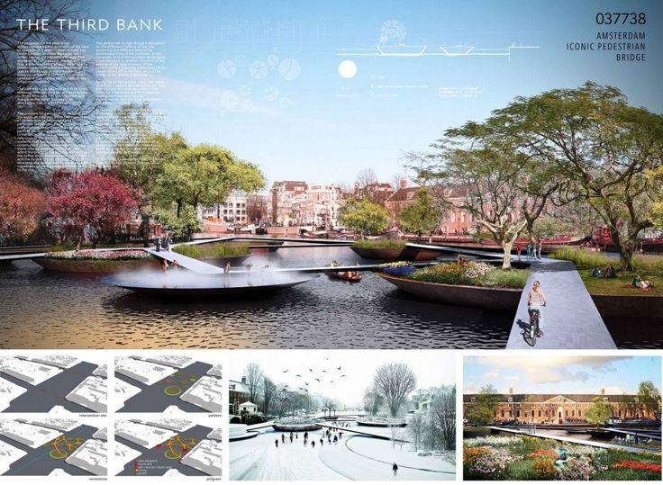 [A3N] : Amsterdam Iconic Pedestrian Bridge Competition Winners (Honorable Mention 02 : The Third Bank) /Reinaldo Nishimura,Luiz Nogueira,Ari Miaciro,Evangelina Galvão  architects ( Brazil )