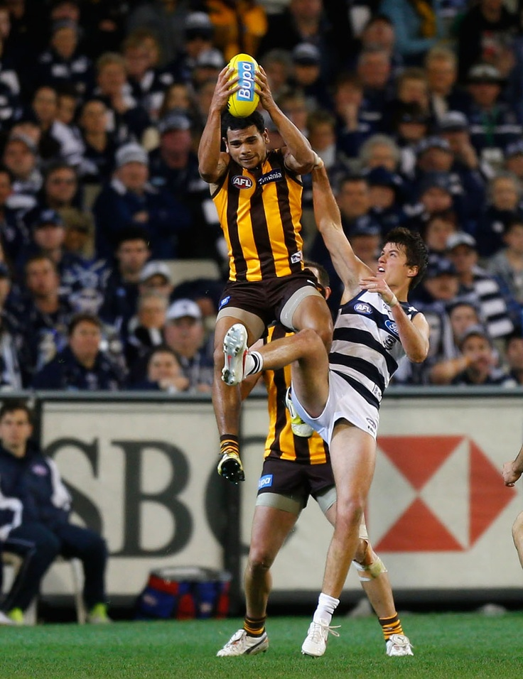 Cyril Rioli, front and centre.
