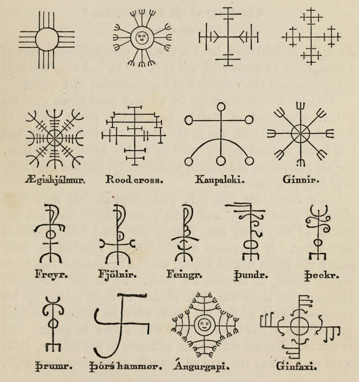 "noktuvraas: "" pizzzatime: "" anitanh: Icelandic Magical Signs. Found in the Internet Archive "" awesome!!!! """