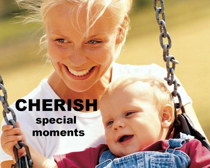 Cherish special moments