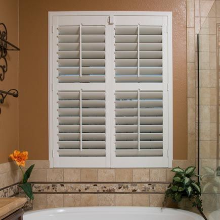 76 Best Images About Plantation Shutters On Pinterest Hunter Douglas Arched Eyebrows And Palm