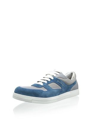 44% OFF Salvatore Ferragamo Men's 7615 Salomon Sneaker (Turquoise)