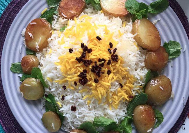 Laga perfekt iranskt ris