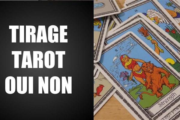 Le Tirage Tarot Oui Non Gratuit Tirage Tarot Tarot Oui Non Tarot
