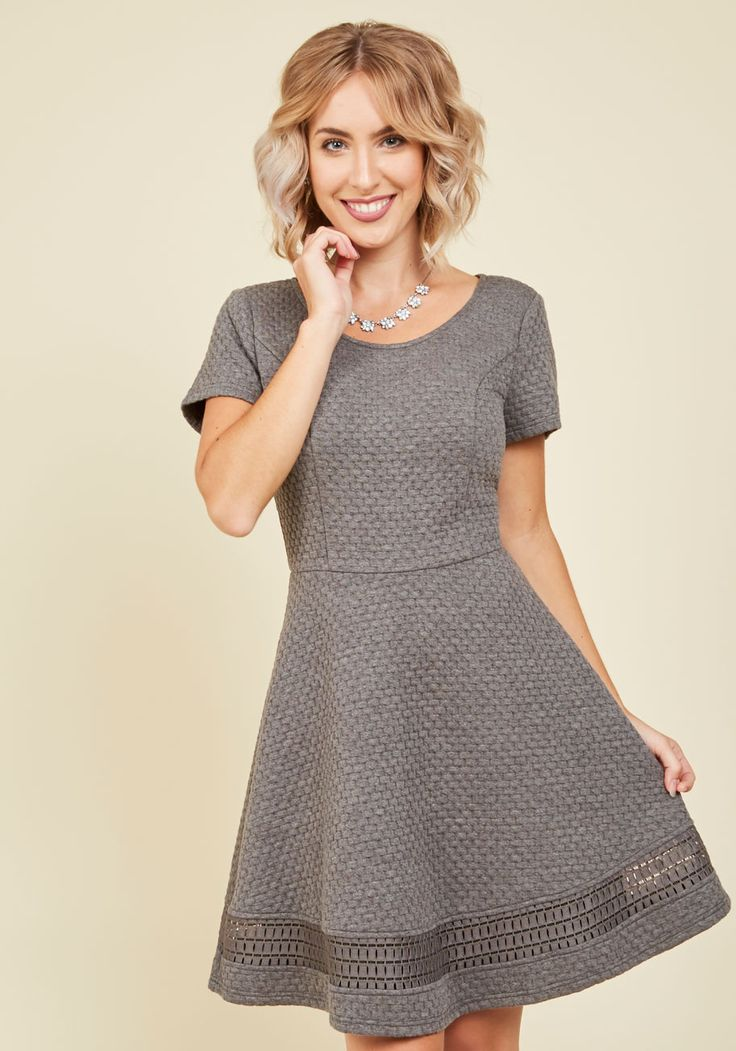 Al Fresco Event Dress Meet Your Girls For Tapas On The Terrace In This Grey