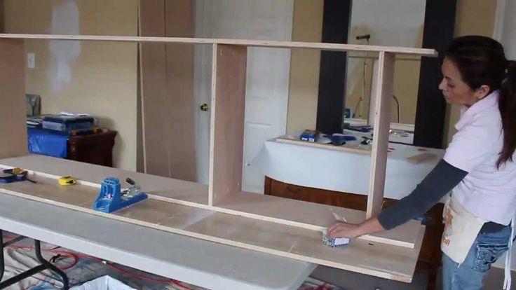 Building Bookshelves with Kreg Tools -Part 1
