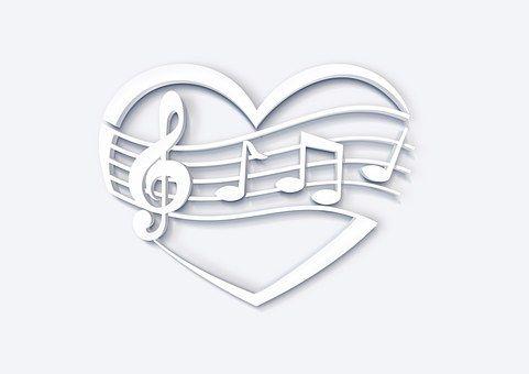 Liefde, Hart, Muziek, Sleutel