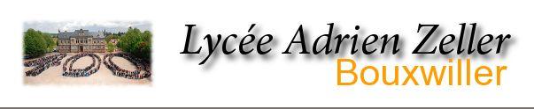 Emploi du temps au LYCEE