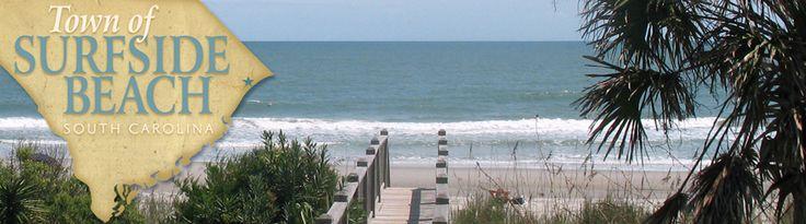 Surfside Beach, South Carolina  Family Beach June 2011