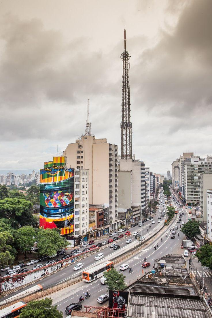 Essa semana, a famosa e agitada Avenida Paulista ganhoumais um mural feito por Eduardo Kobra. Kobra, como é conhecido, é um artista que começou como pichador, logo em seguida tornou-se grafiteiro …