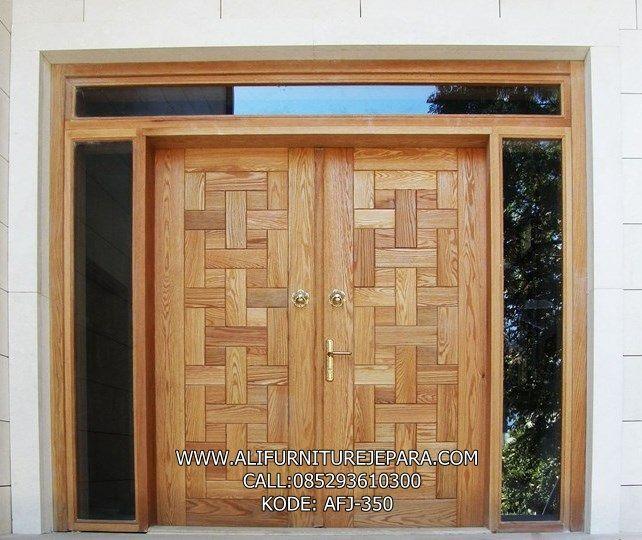 Model Pintu Rumah Kupu Tarung Terbaru AFJ-350 | Rumah ...