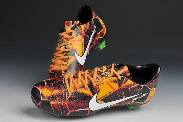 Nike Mercurial Vapor IX FG Calcio Con Tacchetti Arancione Bianco Nero Laser Tropical Pack Per Gli Uomini con 73.07