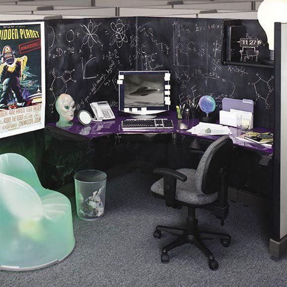 White Desk Office Decor