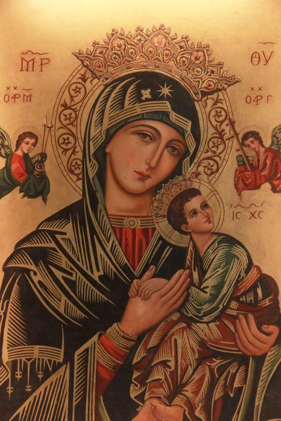 La Inmaculada: Oración por los hijos a la Virgen del Perpetuo Socorro