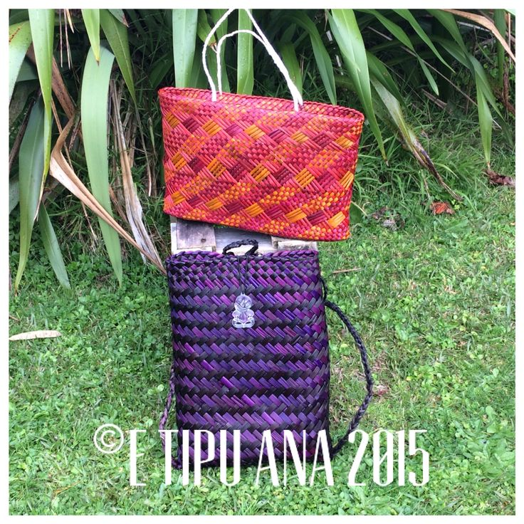 #etipuana  Combo  Hand woven by julz and em @ E Tipu Ana out of New Zealand harakeke (flax)
