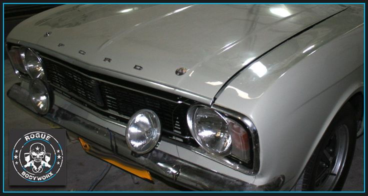 Rogue Bodyworx for all your auto bodywork , spray painting and panel beating requirements | Ford Cortina GT 1600