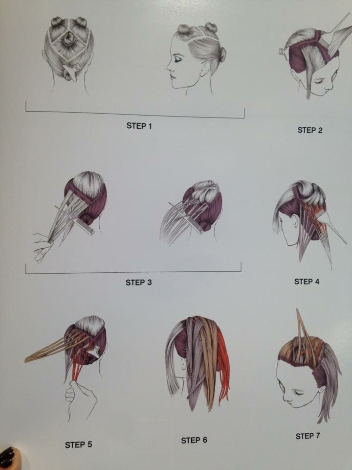 Balayage Sectioning Hairstyles For K In 2019 Hair