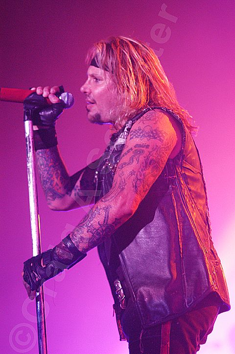 A photo of Vince Neil for your Motley Crue #photo of the day! #MotleyCrue #VinceNeil #RIPMotleyCrue