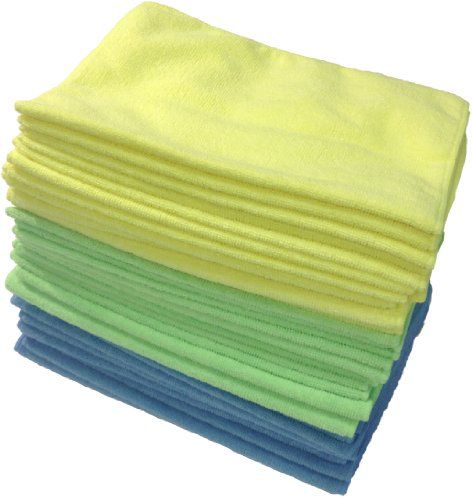 Zwipes 834174000000  Microfiber Cleaning Cloths (36-Pack) Assorted Colors