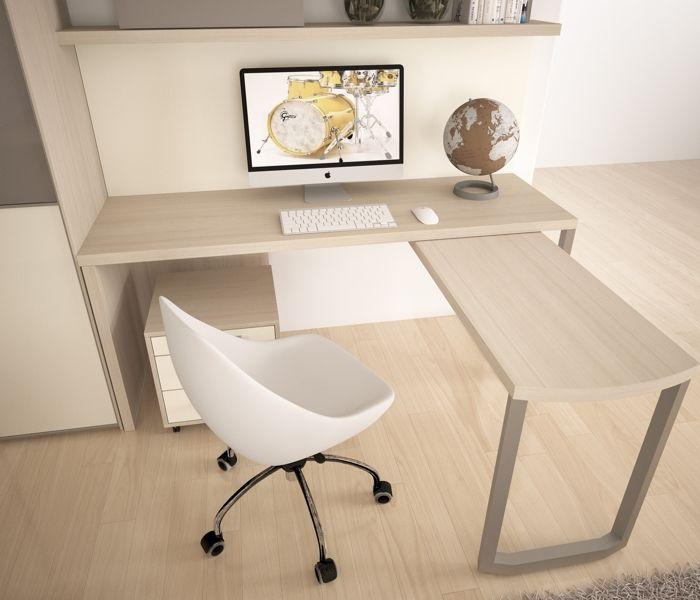 badroom scrivanie per camerette scrivania lineare con
