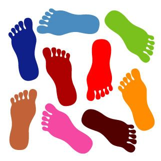 10 best feet images on pinterest clip art illustrations and walking rh pinterest com baby feet clipart feet baby clipart