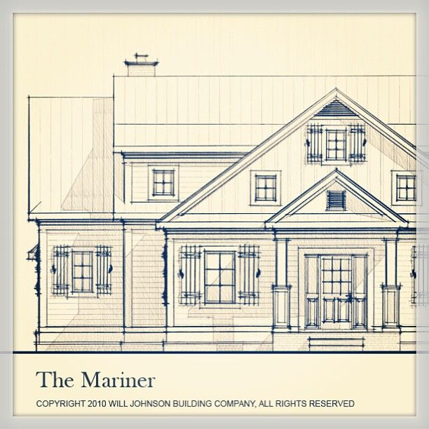 18 best images about elevation sketch on pinterest for House sketches from photos
