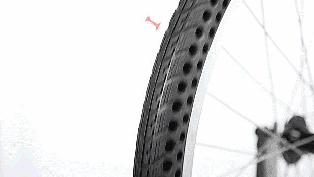 Com estes novos pneus de bicicleta você nunca mais precisará se preocupar com espinhos