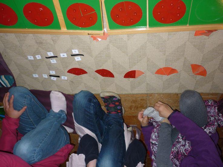 Montessori avec les 6-12 ans: calcul