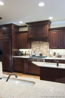 tile backsplashes for kitchens best 25 cherry wood kitchens ideas on cherry 6125