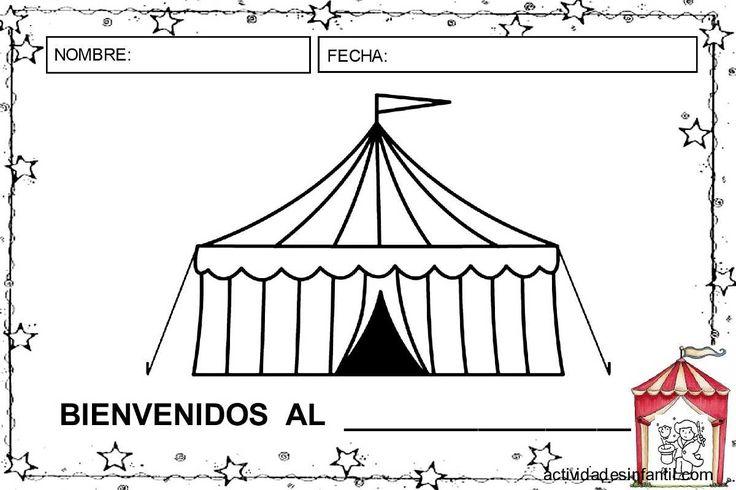 Bienvenidos al circo actividades