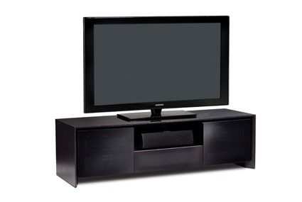BDI Casata 8629 2 Black Oak Low Profile Contemporary Home Theatre TV Cabinet  Is A