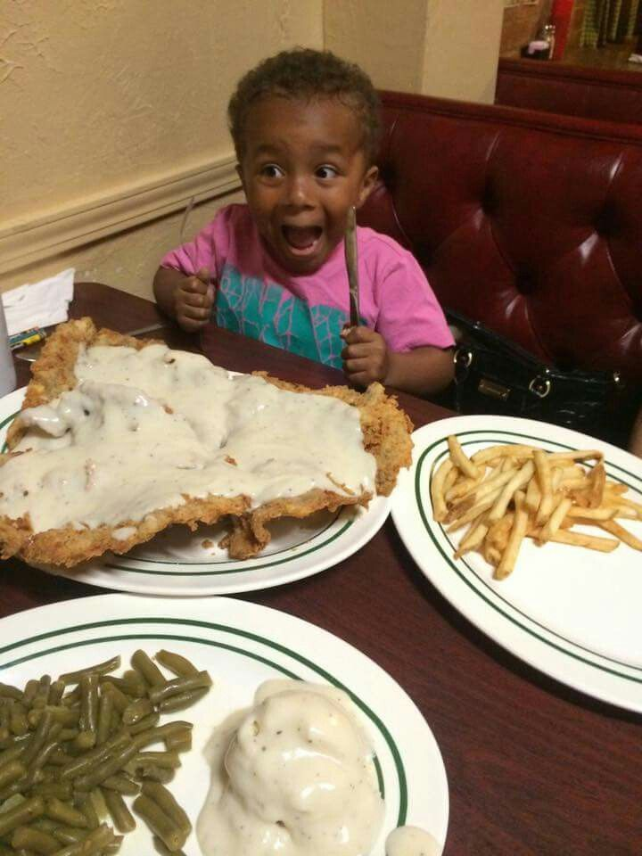 Kendall's restaurant Norman Oklahoma. This is their chicken fried steak challenge. TripAdvisor just published their list of best food challenges in each state. Kendall's is very proud to be on that list for Oklahoma.