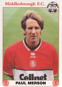 Paul Merson of Middlesbrough in 1998.