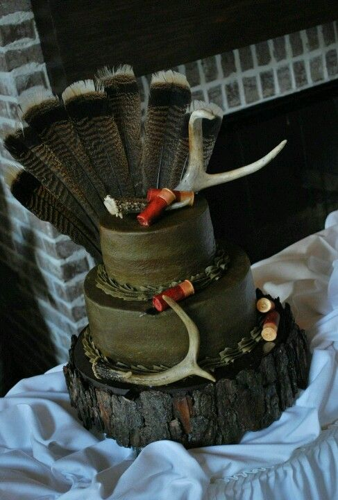 Hunter's wedding cake