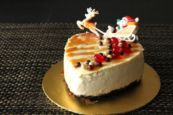 No Bake Chilled Cheesecake