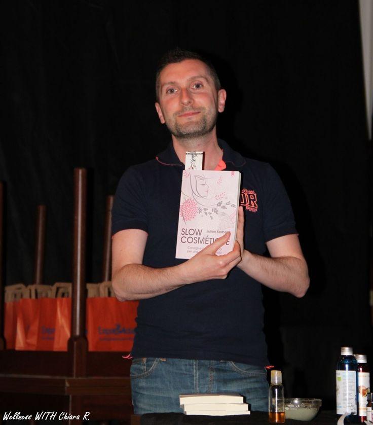 Sébastien Chipot, ambassador di Slow Cosmétique in Italia