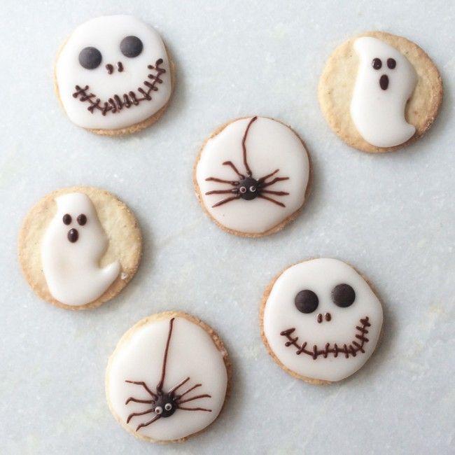 Halloween cookies. Great for kids - Babybite.dk