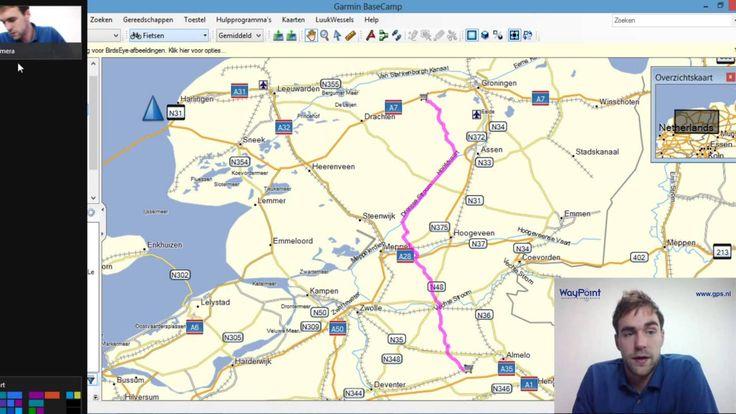 Starten met Garmin BaseCamp - tutorial - 04 - Gegevens met BaseCamp orde...