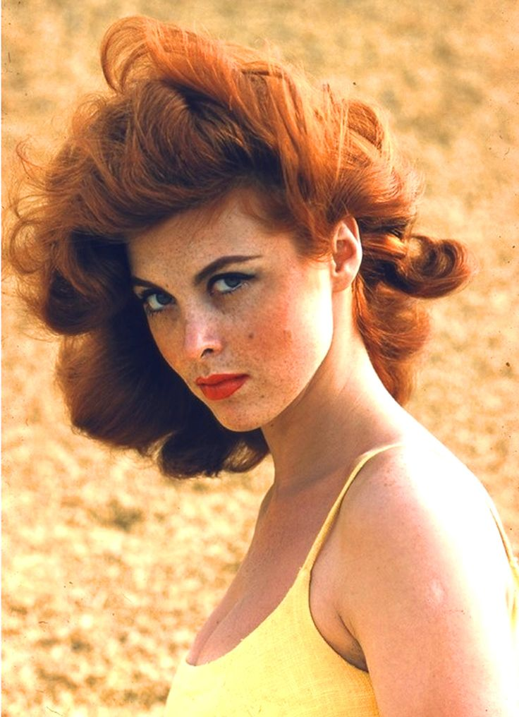 Tina Louise in the '60s. #redhead