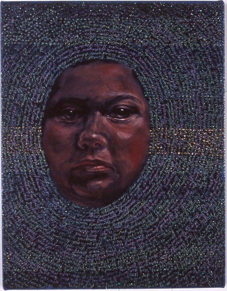 Self Portrait of Julie Dowling 2001
