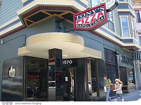 Tonys Pizza North Beach SF - have the chorizo mussels!