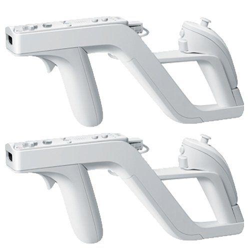 awesome 2 Zapper Pistola Gun para Mando Control Nintendo Wii