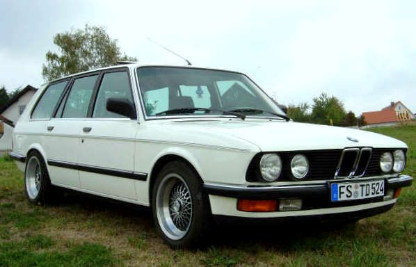 BMW 5 series (E28) touring version built by Schulz