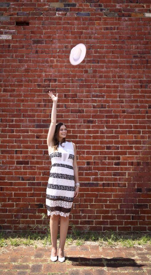 Elliatt Accolade Dress for Melbourne Cup - glamorous bold prints.