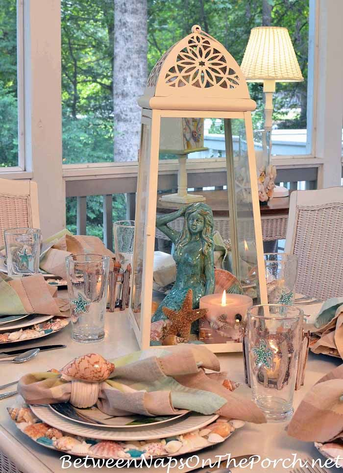 The best shell centerpieces ideas on pinterest beach