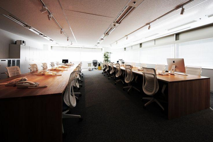 優しい曲線のラインが光を広げるナチュラルオフィス|オフィスデザイン事例|デザイナーズオフィスのヴィス