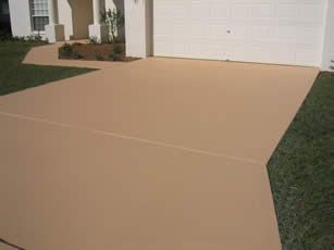 Best 20 driveway paint ideas on pinterest address signs house numbers and yard drainage for Exterior concrete driveway paint