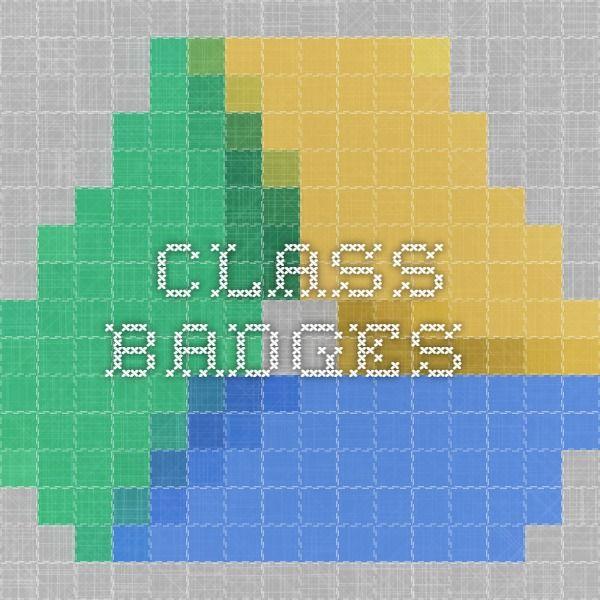 Class Badges - platforma do przyznawania odznak - Pdf