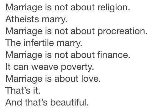 002 Marriage is not about religion. Atheists Marry. Marriage