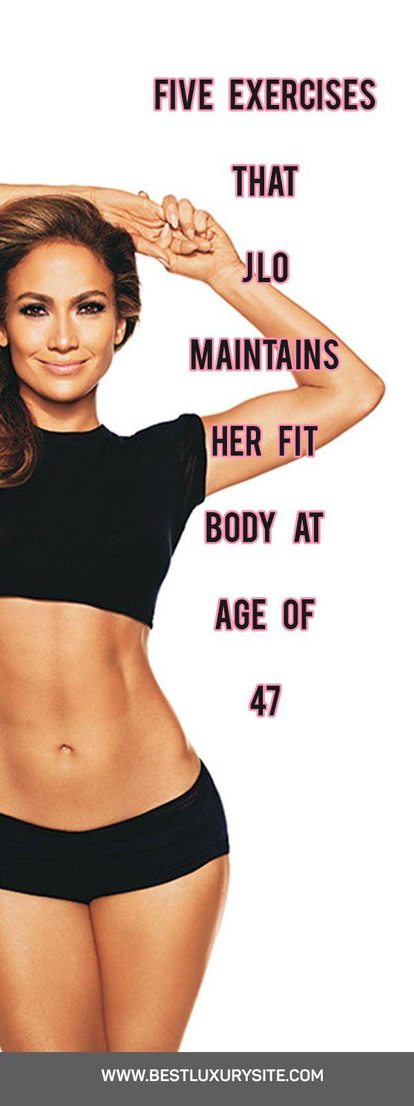 Jennifer Lopez looks incredibly fit, wanna know her secret???